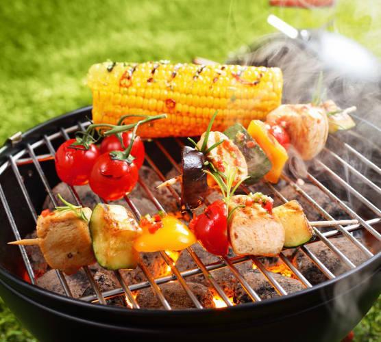 complete barbecue laten bezorgen vegetarisch